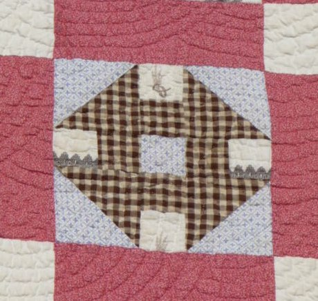 Quilting On The Crescent Pieces Of The Past Midwest Churn Dash