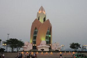 Trầm Hương tower in Nha Trang city