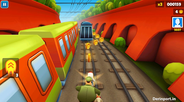 Download Game Ringan Subway Surfers for PC Gratis