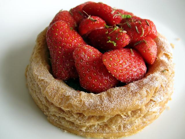 Tarte aux fraises - La Pâtisserie des Rêves