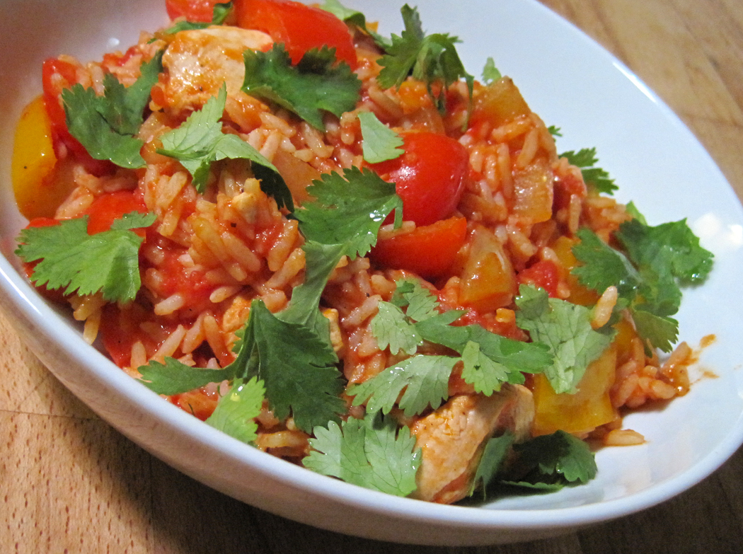 Jollof Rice With Chicken  Easy One Pot Cooking