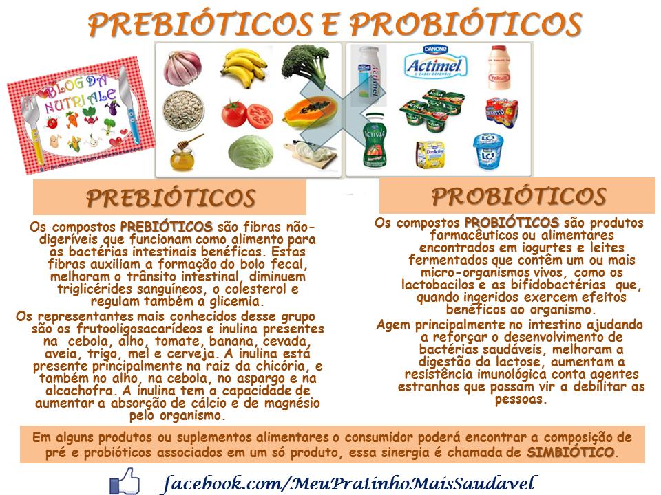 Nutri o infantil nutricionista alessandra pires as diferen as entre prebi ticos e probi ticos - Alimentos con probioticos y prebioticos ...