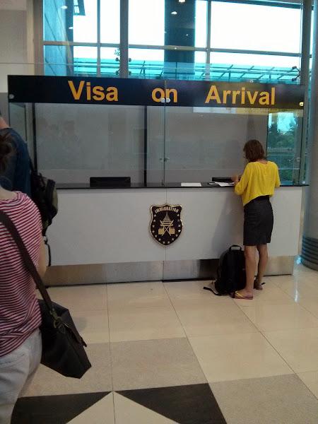 Visado on-arrival para Myanmar