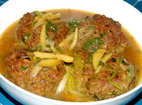homemade 4 big size meatballs Chinese recipe