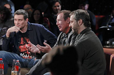 The Green Room with Paul Provenza welcomed Garry Shandling and Judd Apatow