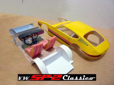 Papermodelo Volkswagen SP2_Detalhes