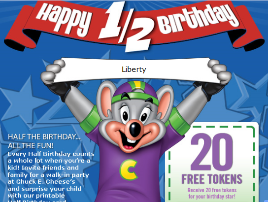 Rewards Calendars & Free Tokens. Remember Book It!? Well, Chuck E. Cheese brings the popular reading program into the 21st century with it's Rewards Calendar/5(6).