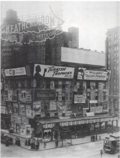 The Form Of Money Billboards Late 1800s