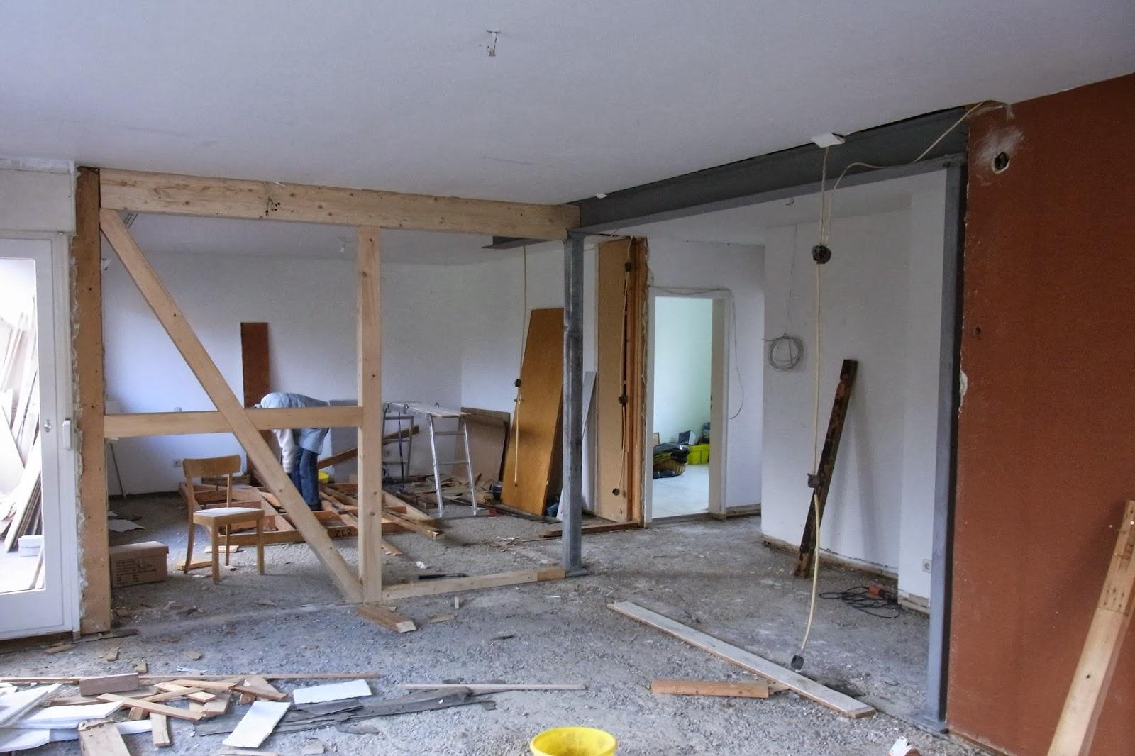 reif f rs haus heizung stahltr ger holzbalken elektro. Black Bedroom Furniture Sets. Home Design Ideas