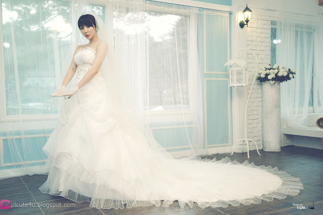 1 Yeon Da Bin in Wedding Gowns-Very cute asian girl - girlcute4u.blogspot.com