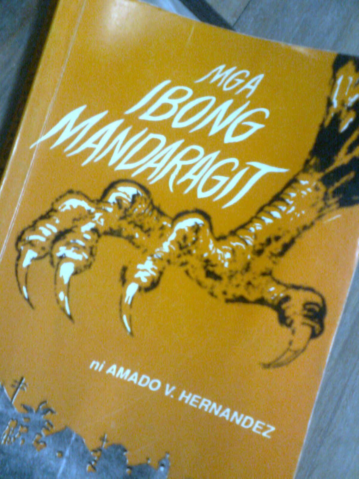 book report ng ibong mandaragit Books shelved as philippine-literature: abnkkbsnplako by bob ong, noli me tángere by josé rizal, alamat ng gubat by bob ong  mga ibong mandaragit.