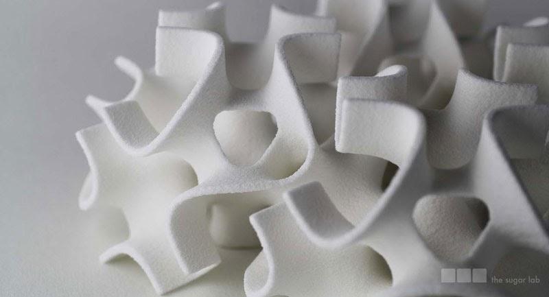 Terrones de azúcar impresos en 3D de The Sugar Lab