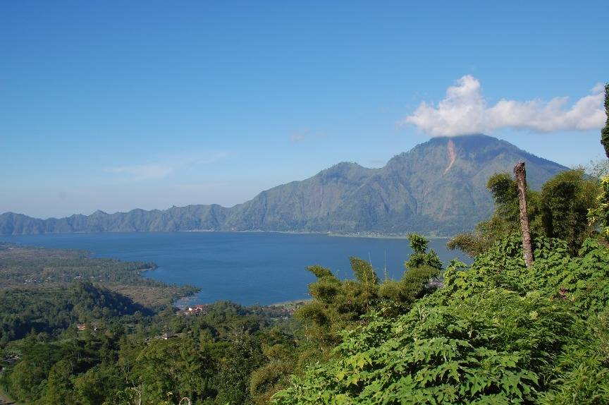 Volcano Bali Batur Batur Mount Volcano