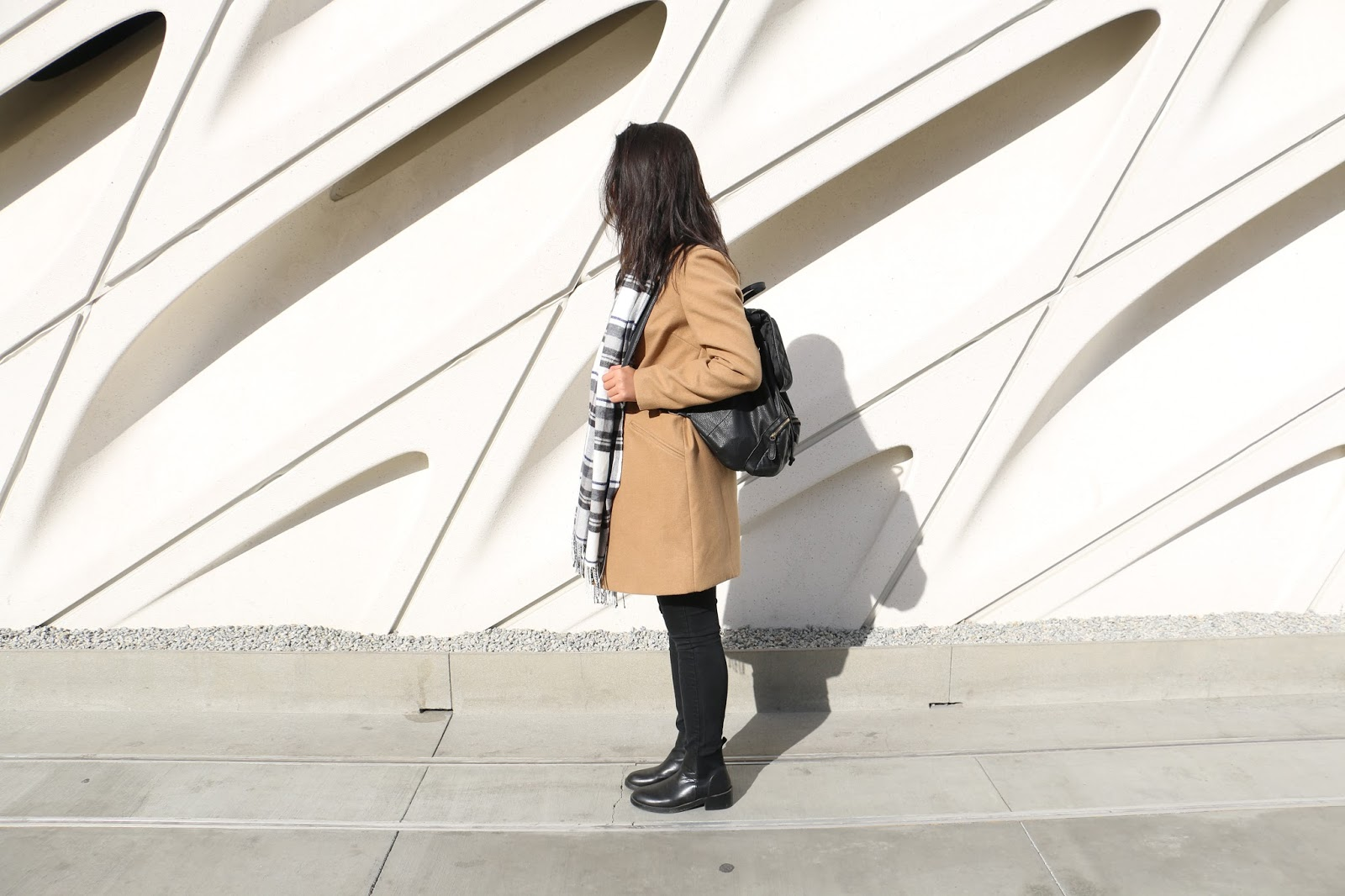 outfit of the day, outfit, personal style, camel coat, new york, the broad