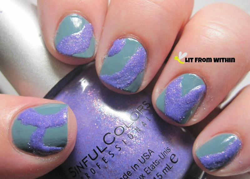 Sinful Colors Purple Gleam has a nice, soft shimmer