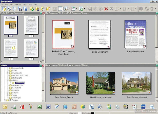 Nuance PaperPort Professional 14.1 2012 Programa Digitalice Documentos