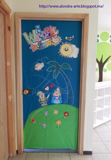 decorar sala de kinder : decorar sala de kinder:Ideas para decorar el salon de juegos para niños/ ideas for