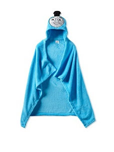 MyHabit: Up to 60% off Batman, Spiderman, Hello Kitty: Hooded Blankets - Thomas the Train Hooded Wrap (Toddler)