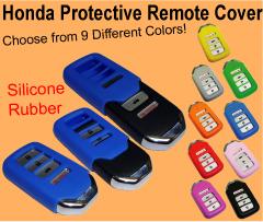 Honda 2013 Accord Key Fob Cover, smart remote jacket skin case silicone rubber
