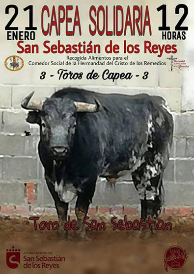 SAN SEBASTIÁN DE LOS REYES 21-01-2018. CAPEA SOLIDARIA A LAS 12 HORAS.