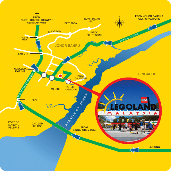 Legoland Malaysia Day Tickets Amp Legoland Annual Pass Travel