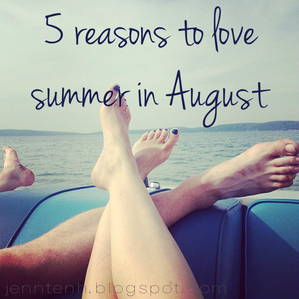 Five Reasons to Love Summer