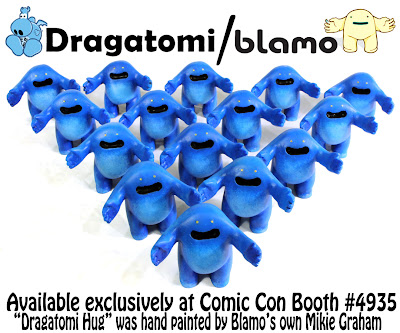 San Diego Comic-Con 2012 Exclusive Dragatomi Hug by Blamo Toys
