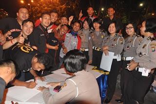 Ditlantas memberi deadline komunitas motor harus mendaftarkan dirinya di kepolisian