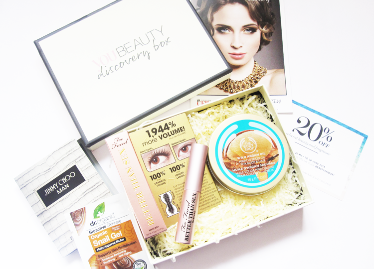 You Beauty Discovery Box - May 2015 review