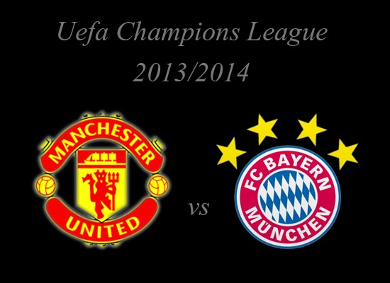 Manchester United vs Bayer Munchen Champions League Quarter-finals 2014