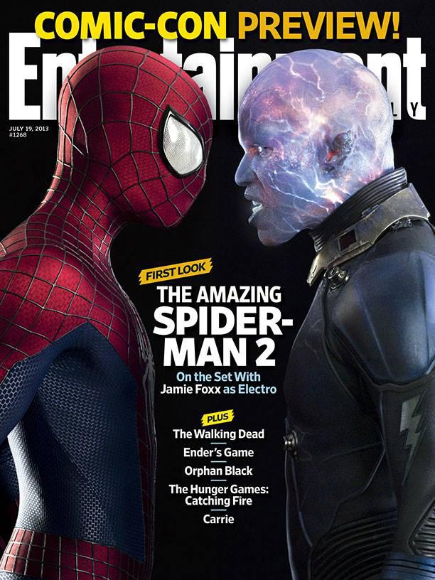 Jamie Foxx como Electro por fin revelado