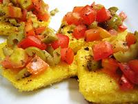 Bruschetta de Polenta (vegana)