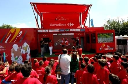 Carrefour renueva con La Vuelta a España