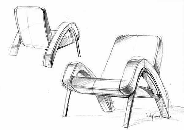 Inspired and inspiring house design oxoye chair retro for Furniture sketch design