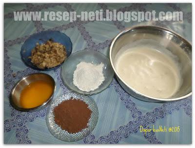bananas brownies recipe at kusNeti kitchen @2015