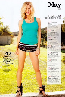Brooklyn-Decker-Covers-Women's-Health-May-2012
