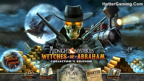 Free Download Midnight Mysteries Witches of Abraham Collector's Edition PC Game Cover Photo