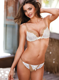 Miranda Kerr hot in sexy Victoria's Secret lingerie HQ