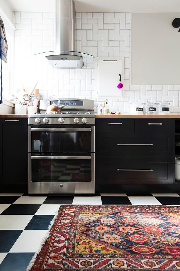 Cocinas negras que te van a enamorar blog decoraci n con - Cocinas negras ...
