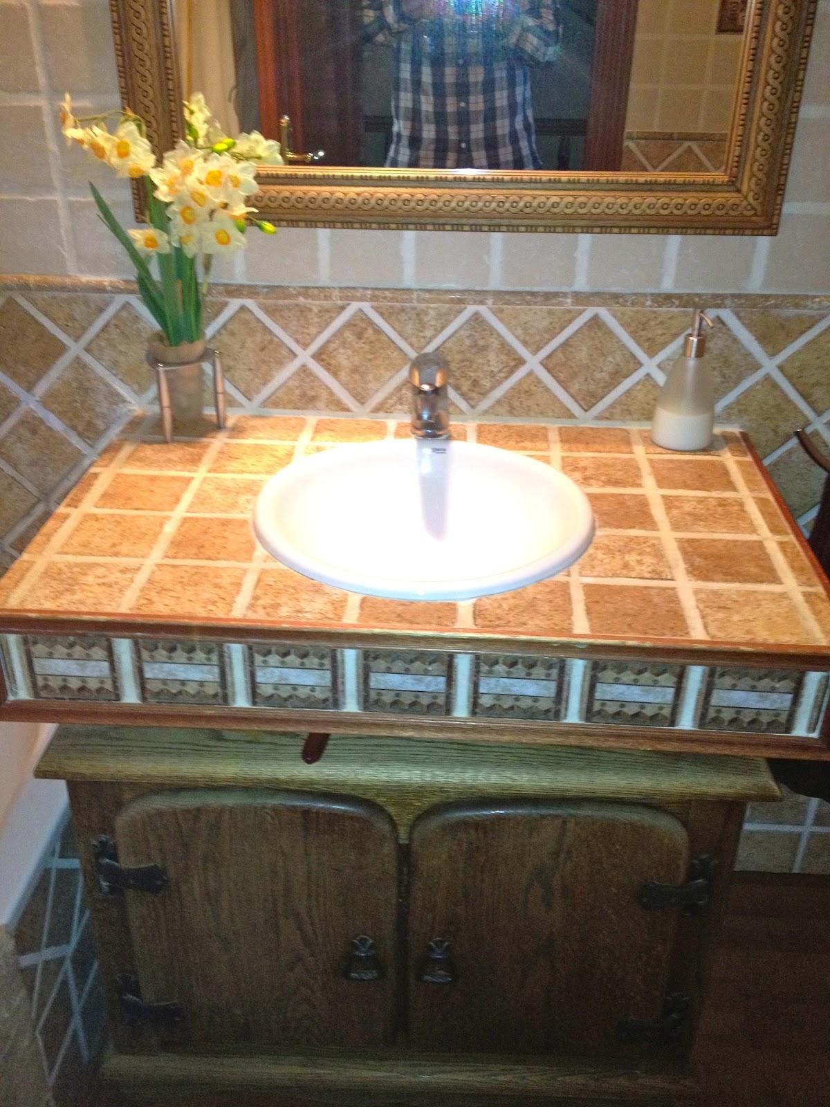 Fai o interiorisme ba o estilo r stico Muebles de lavabo de obra
