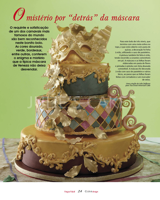 Os Bolos Da Julie The Great American Cake Carnival Bolo De