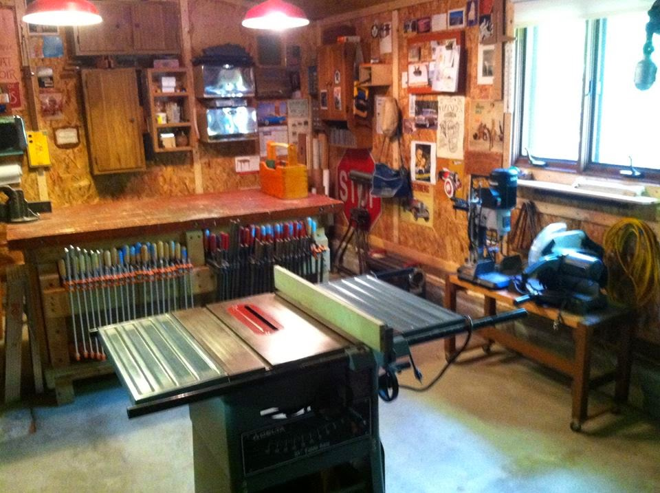 basic woodworking shop