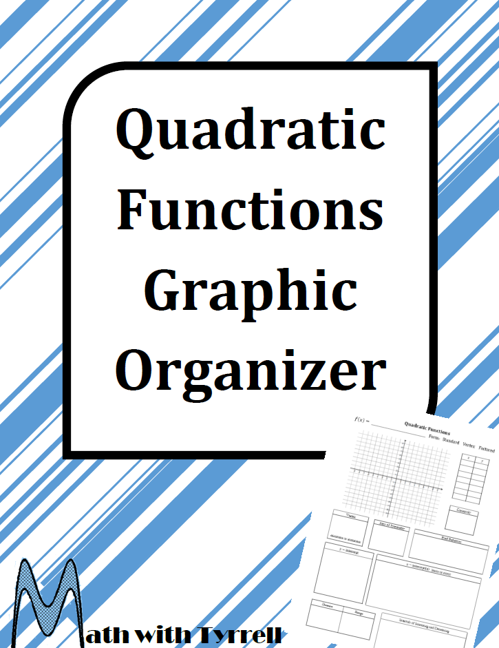https://www.teacherspayteachers.com/Product/Quadratic-Functions-Graphic-Organizer-1653656