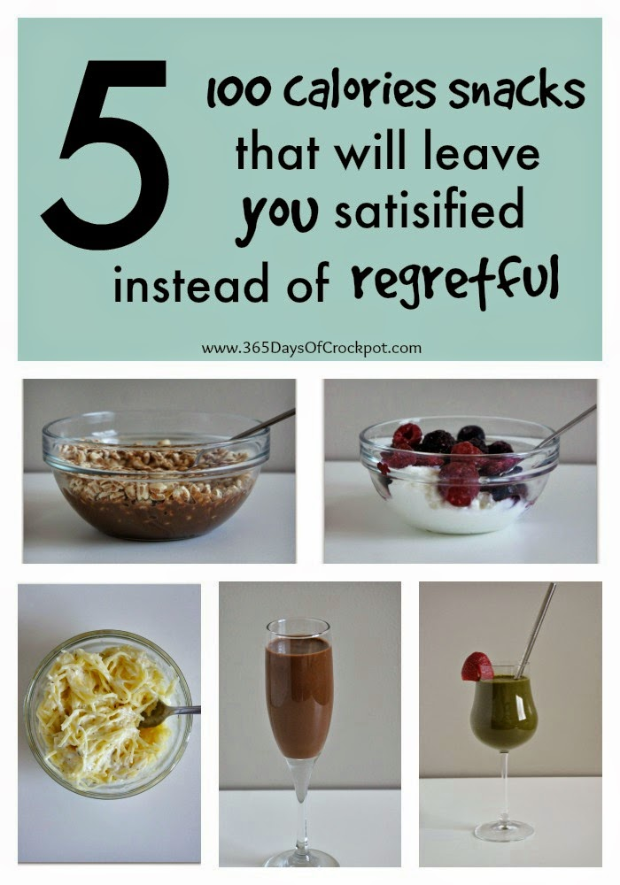 Five 100 calories snacks that will leave you satisfied instead of regretful #healthysnacks #skinnyrecipes