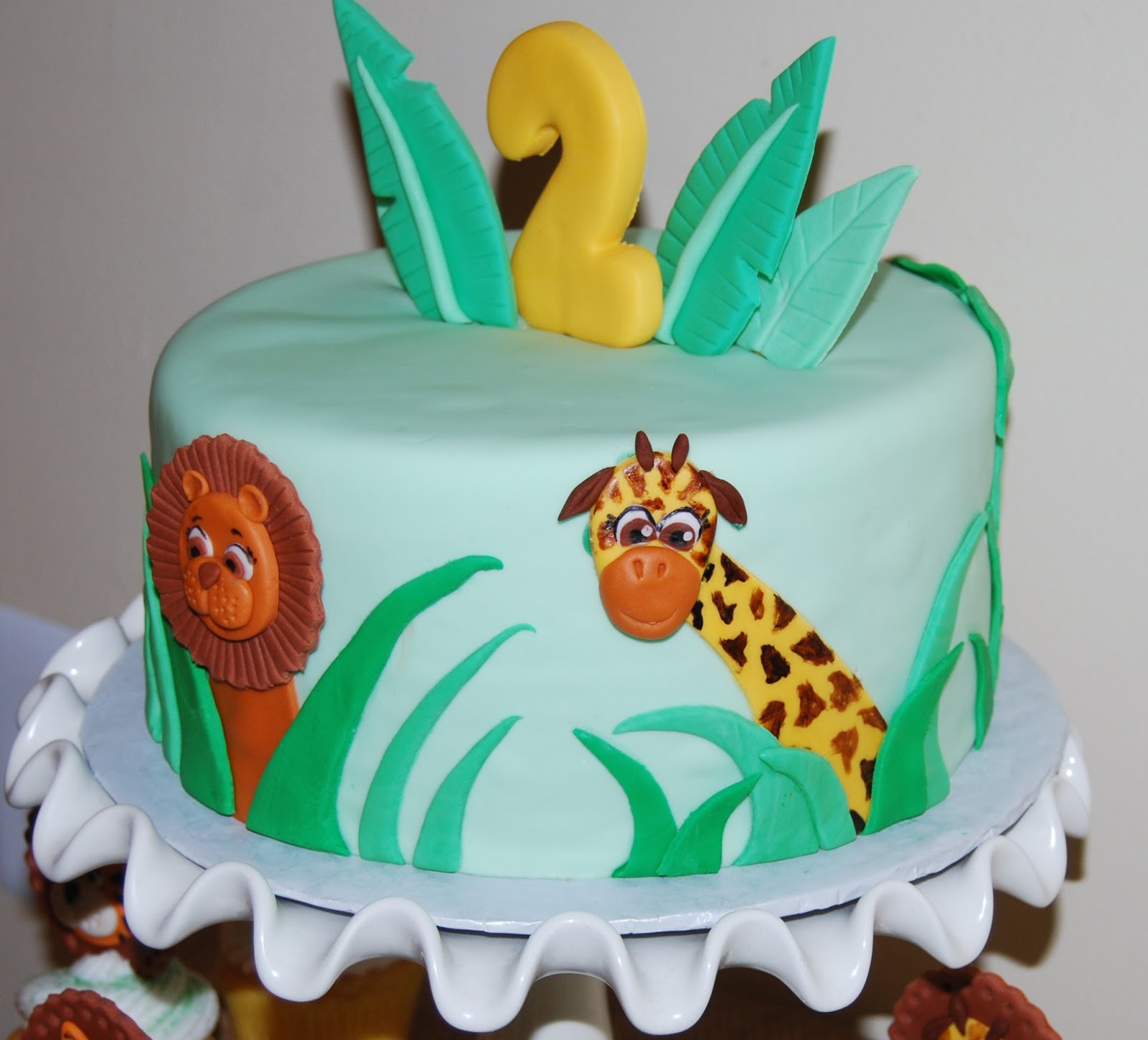 Cake Images With Name Rohan : Leelees Cake-abilities: Jungle Cake and Cupcakes
