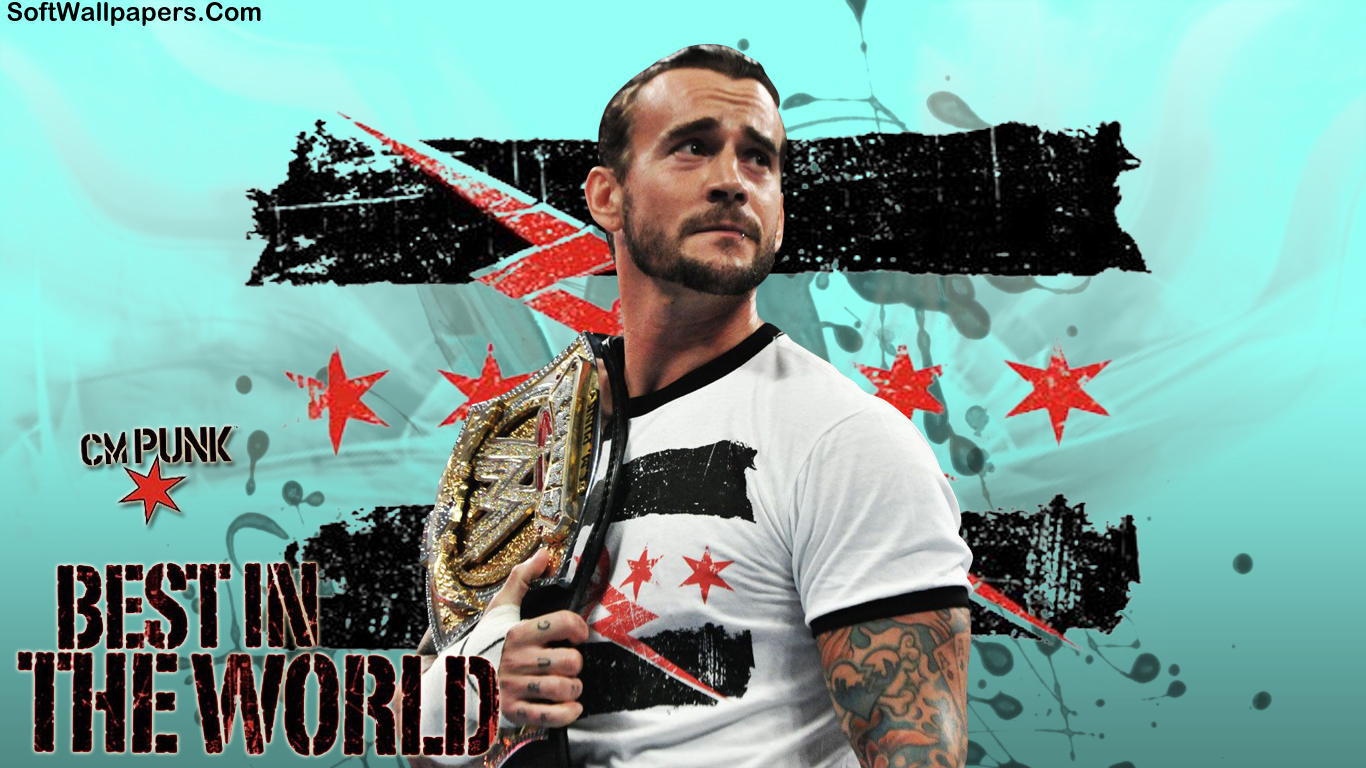 cm punk wwe hd wallpapers soft wallpapers