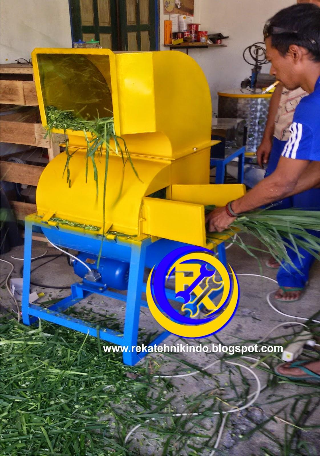 Rekatehnikindo Mesin Penghancur Rumput Pakan Ternak Sapi Dan Kambing