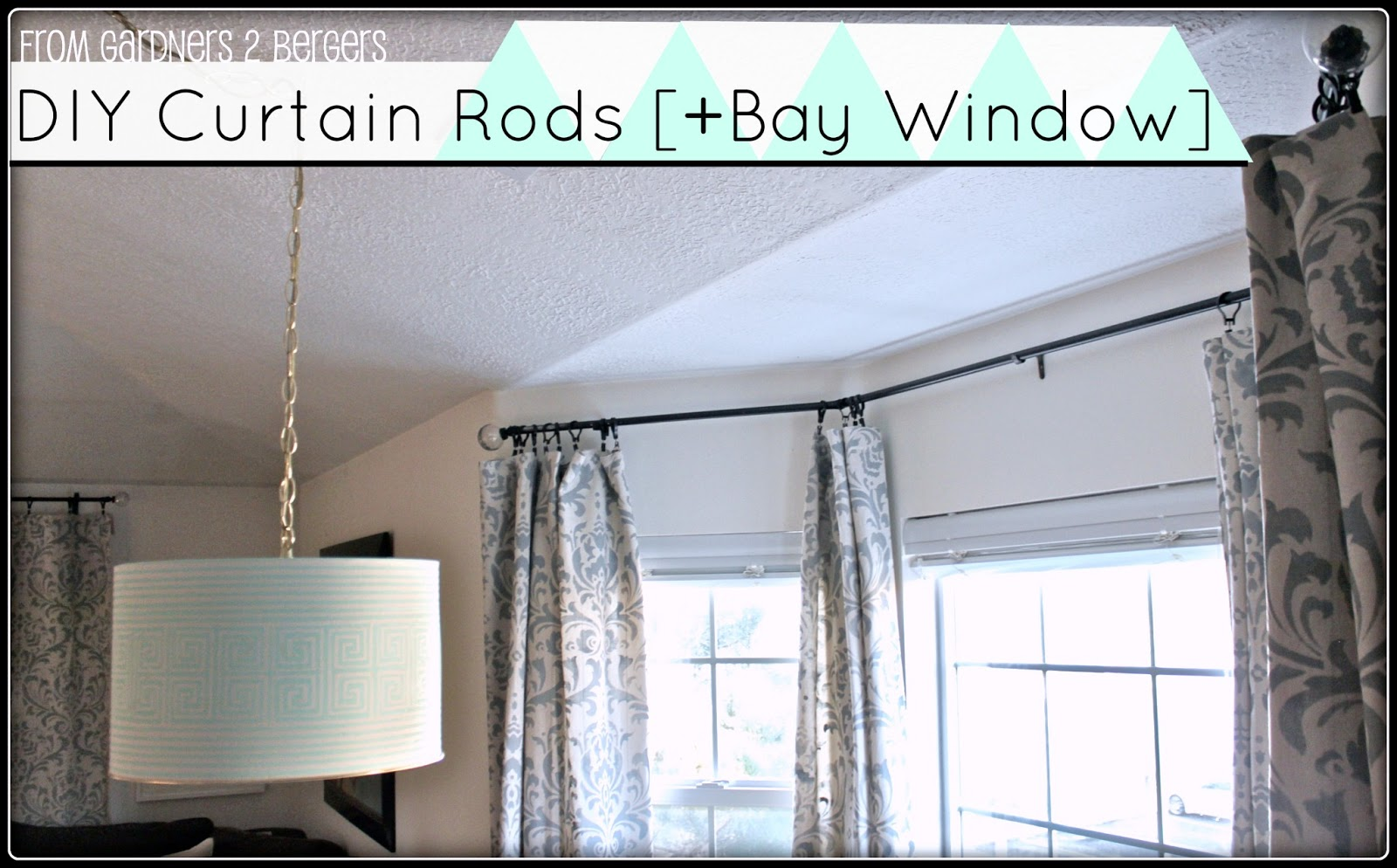 Adjustable Curtain Rod Brackets Radius Window Curtain Rod