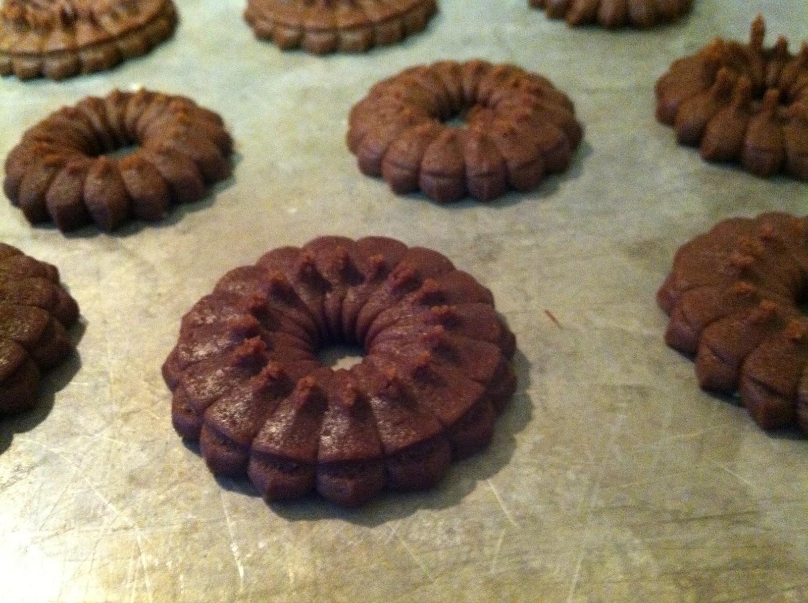 Hazelnut Spritz Cookies foto