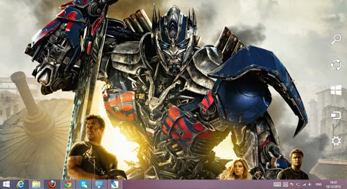 Transformers Age of Extinction 2014 Theme For Windows 7 And 8 8.1 9